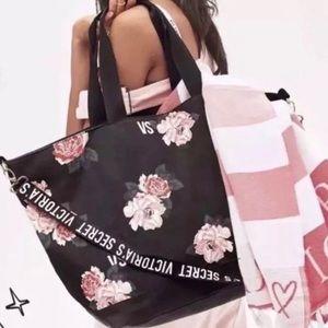 NWT Victoria's Secret Floral Tote Bag